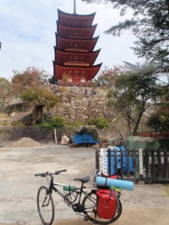 〜 厳島神社から五重塔まで3分で行けます! 〜