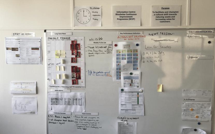 Ad Esse at Blood Cancer UK - Information Centres