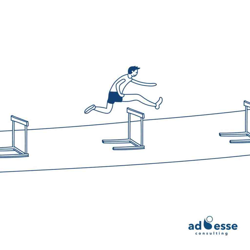 Olympic hurdler by Ad Esse Consulting
