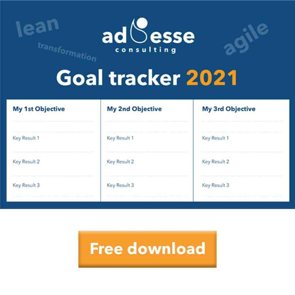 Ad Esse Goal Tracker 2021 calendar
