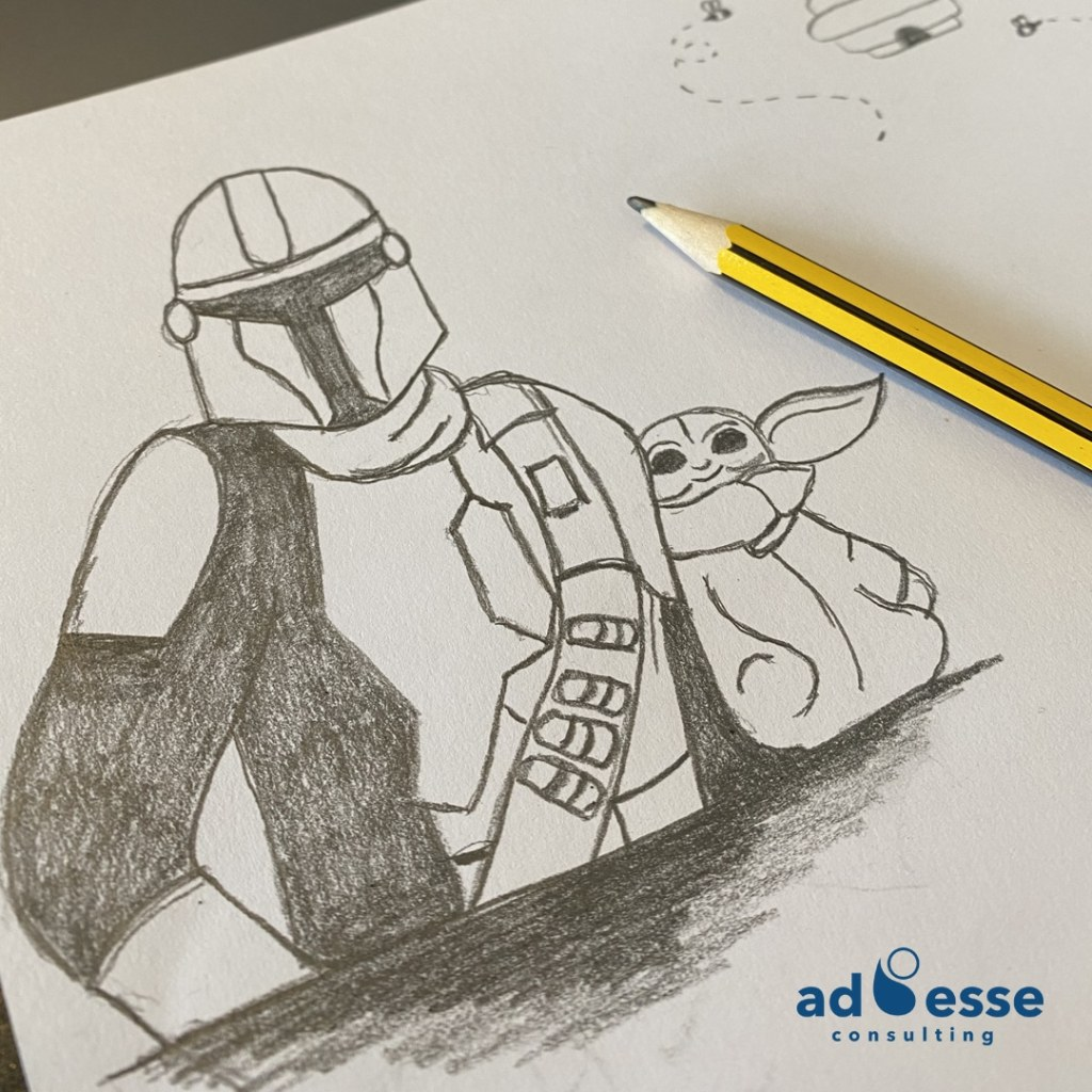 Ad Esse Consulting may the fourth illustration sketch 2021