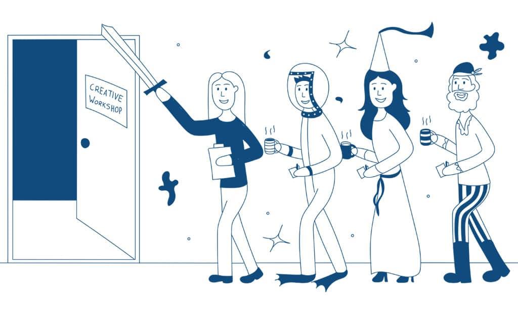 Ad Esse Consulting creative mindset workshop illustration