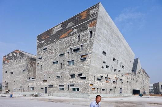 Ningbo Historic Museum / Wang Shu, Amateur Architecture Studio (1) © Iwan Baan