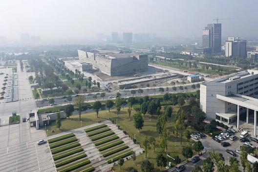 Ningbo Historic Museum / Wang Shu, Amateur Architecture Studio (3) © Iwan Baan