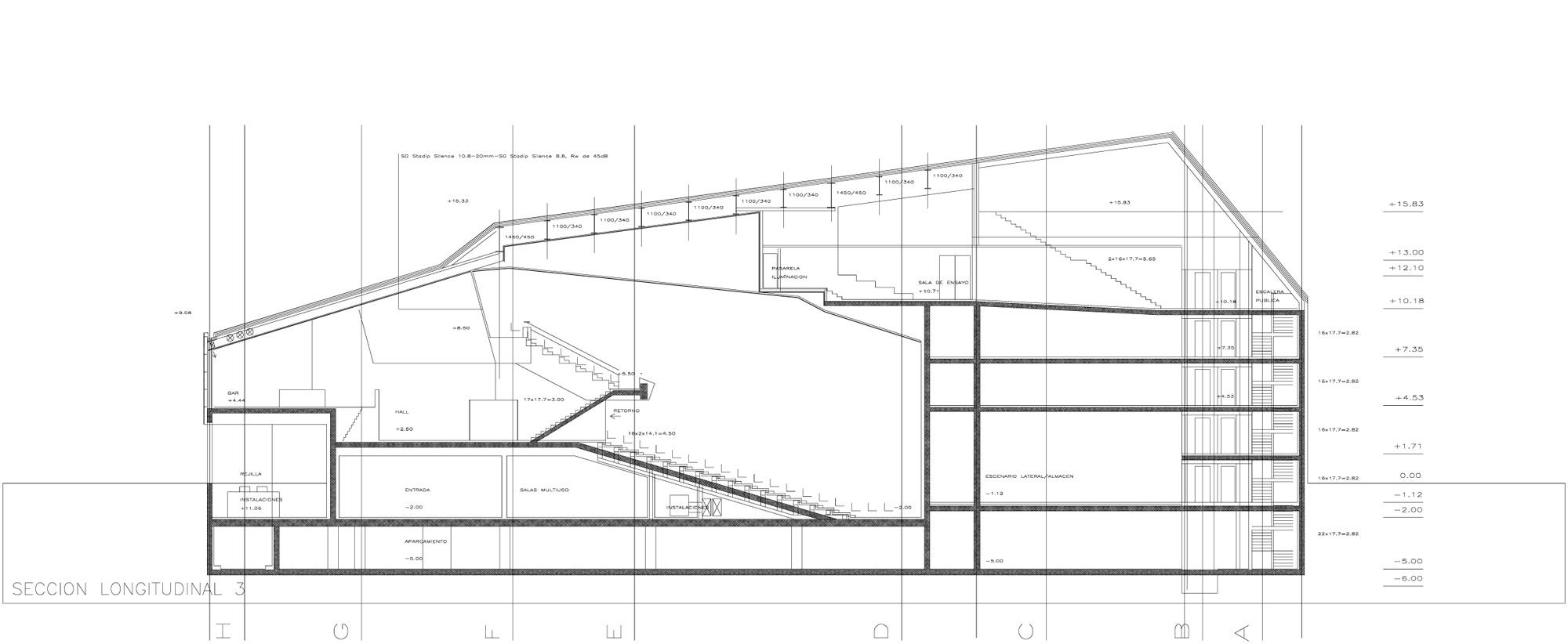 Vila Joiosa Auditorium Theatre Arquitecturas Torres