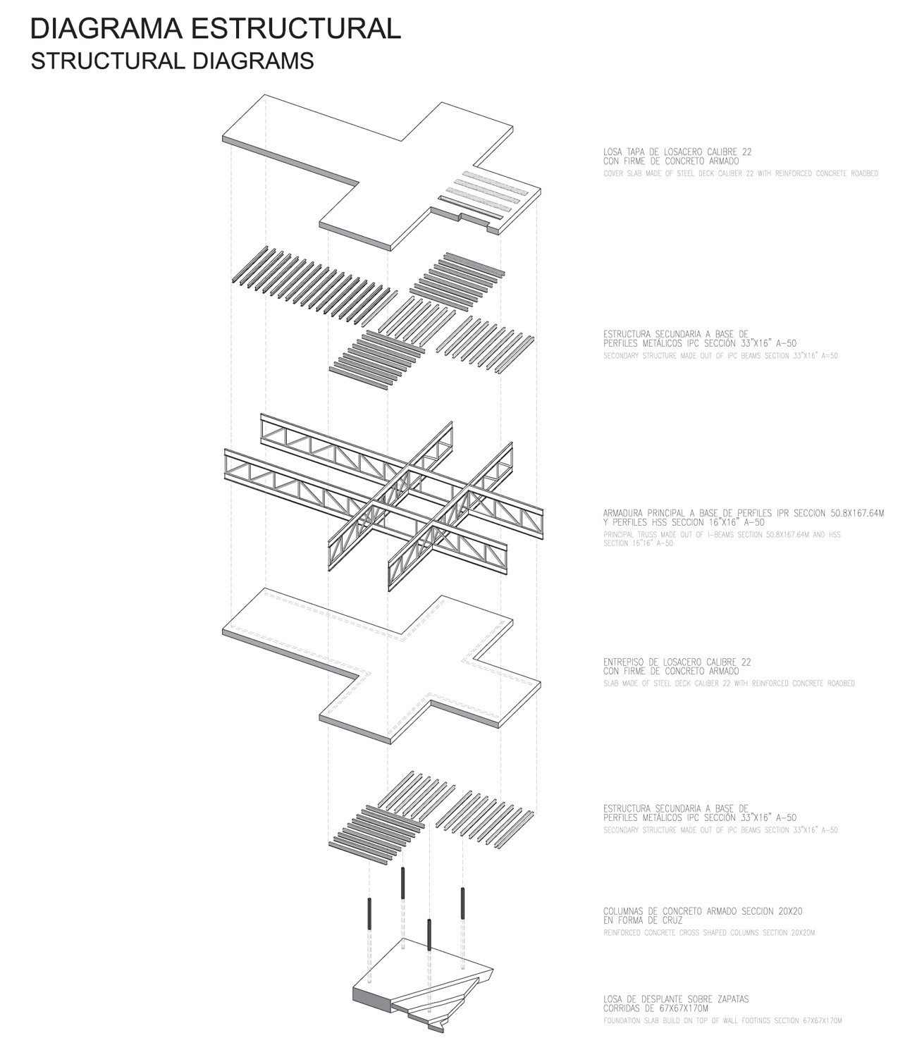 Architecture Photography Structural Diagrams
