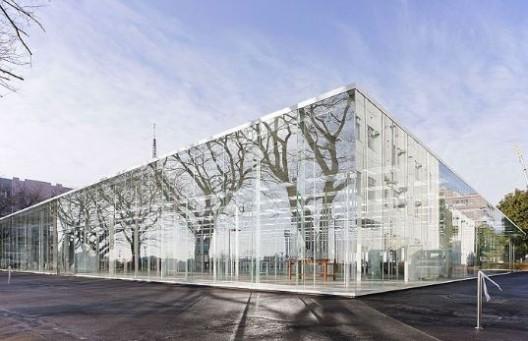 Telhado de Vidro - Oficina do Instituto de Tecnologia de Kanagawa - Japão