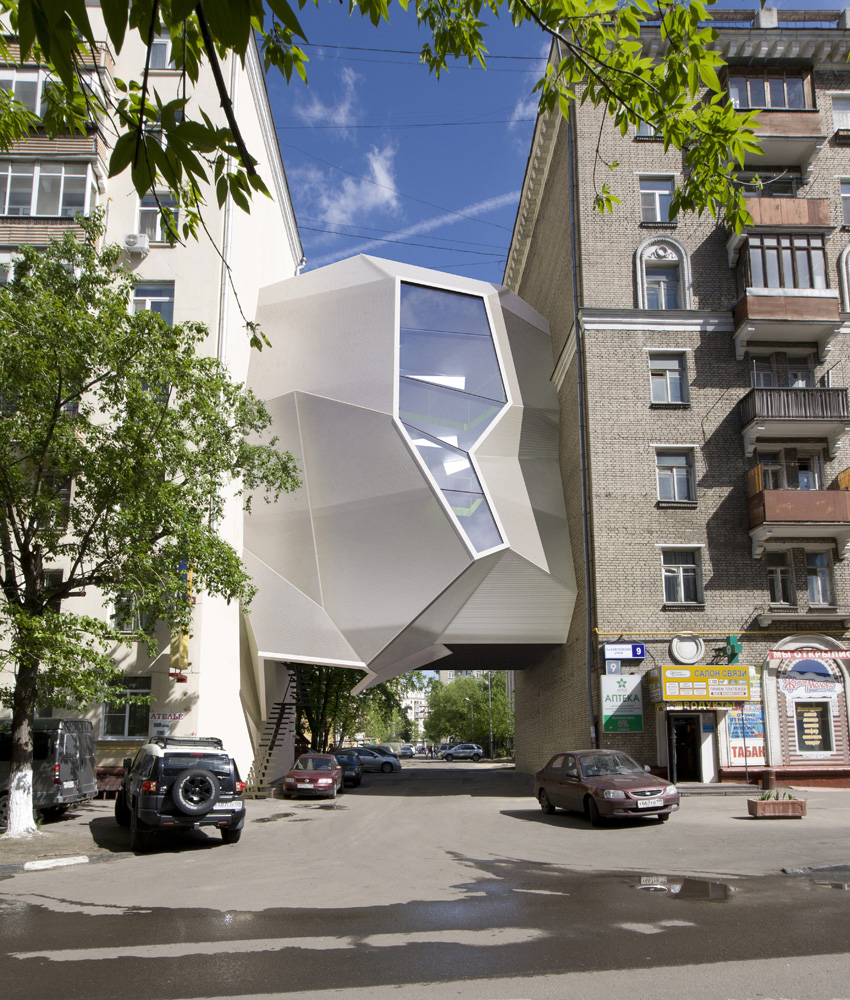 Parasite Office / za bor architects © Peter Zaytsev