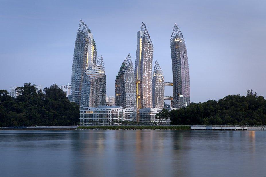 Khu Keppel Bay, Singapore