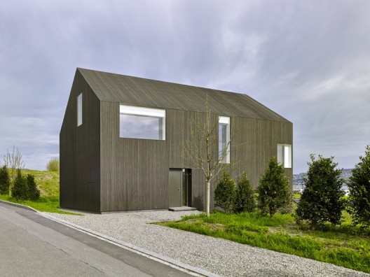 gottshalden by rossetti wyss architekten less than 100 square meters. Black Bedroom Furniture Sets. Home Design Ideas
