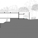 The House Cast in Liquid Stone  / SPASM Design Architects Section