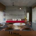 The House Cast in Liquid Stone  / SPASM Design Architects © Sebastian Zachariah