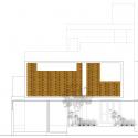 Lateral House / Gaurav Roy Choudhury Elevation