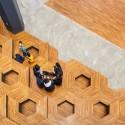Honeybee Lounge / poly.m.ur © Kyungsub Shin
