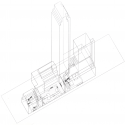 AD Classics: The Museum of Modern Art Axonometric © Taniguchi & Associates