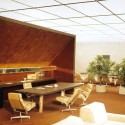 AD Classics: College Life Insurance Company Headquarters / Kevin Roche John Dinkeloo and Associates Interior Model © KRJDA