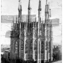 AD Classics: La Sagrada Familia / Antoni Gaudi Construction of the apse walls completed 1893 © Expiatory Temple of the Sagrada Família