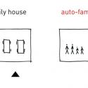Autofamily House / Robert Konieczny Diagram