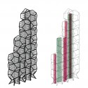 Tammo Prinz Architects Propose Platonian Tower in Lima Diagrams