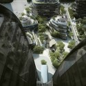 """MAD Breaks Ground on Proposal that Redefines Beijing's """"City Landscape"""" View from Office Building. Image © MAD"""