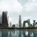 "MAD Breaks Ground on Proposal that Redefines Beijing's ""City Landscape"" Skyline. Image © MAD"