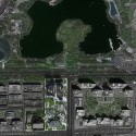 """MAD Breaks Ground on Proposal that Redefines Beijing's """"City Landscape"""" Masterplan within context. Image © MAD"""