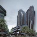 """MAD Breaks Ground on Proposal that Redefines Beijing's """"City Landscape"""" View from Street. Image © MAD"""