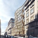 3XN Designs Residential Complex for Downtown Vienna Courtesy of 3XN