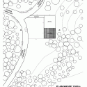 Creation of a Forest Shelter at Bertrichamp / Studiolada Architectes + Yoann Saehr Architect Site Plan
