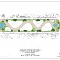 Monte-Carlo Pavillions / Affine Design Ground Floor Plan