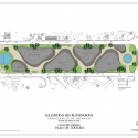 Monte-Carlo Pavillions / Affine Design Roof Plan