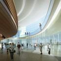 Arte Charpentier Architectes Unveils Plans for Calais Congress Centre Interior public spaces. Image © Arte Charpentier Architectes