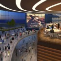 Arte Charpentier Architectes Unveils Plans for Calais Congress Centre Interior atrium. Image © Arte Charpentier Architectes
