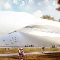 Competition Entry: AVA's Sculptural House of Hungarian Music Takes Third for Liget Budapest Courtesy of Andrea Vattovani Architecture, Segnoprogetto