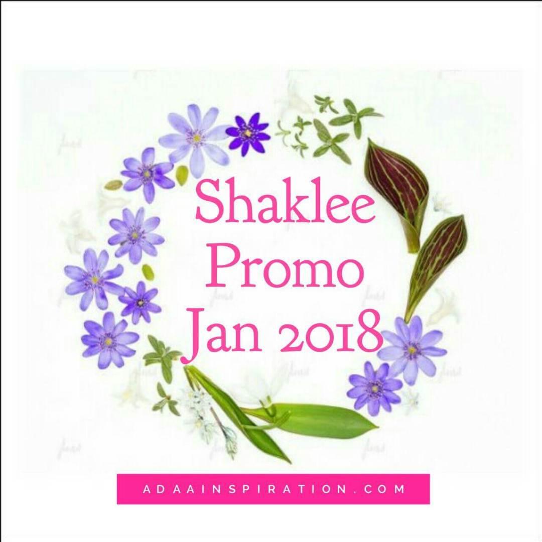 Promosi Shaklee Januari