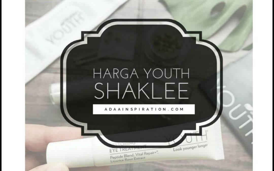 Harga Youth Shaklee Skin Care 2018
