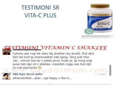 Testimonial Vitamin C Shaklee (18)