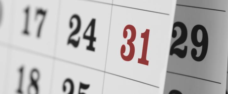 Important dates 2019/2020