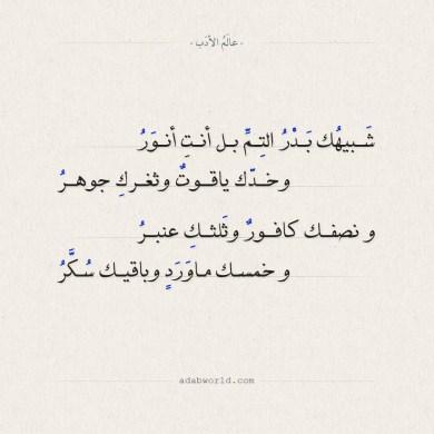 من اروع الكلمات الشعرية العذبة