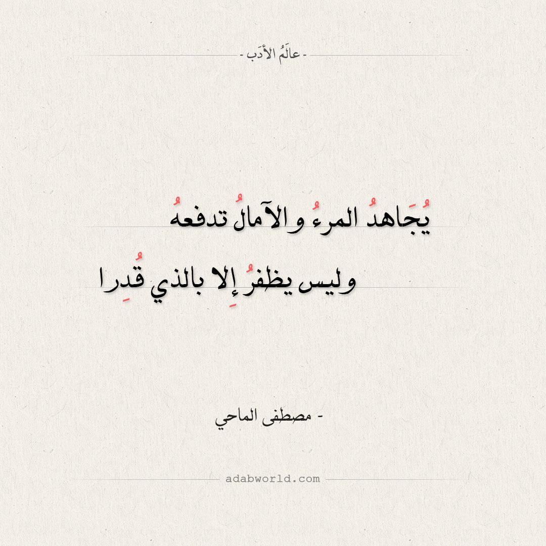 شعر تفائل - مصطفى الماحي