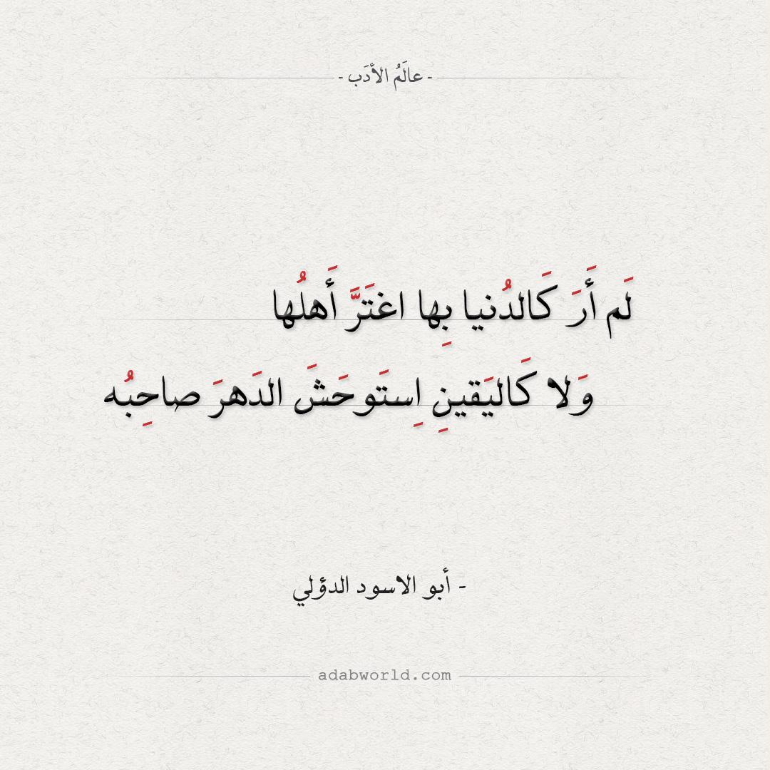 من حكم أبو الاسود الدؤلي