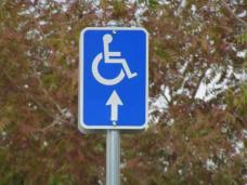 ada parking sign example