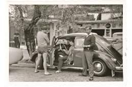 Mit seinem VW-Käfer reiste Helmut schon 1962 an den Gardasee.