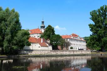 Klosterbräu: Im Benediktinerkloster Břevnov wurde schon vor 1000 Jahren Bier gebraut.