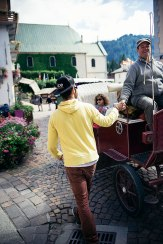 Wenn Festival-Organisator Maximilien Charvet die Kutscher mit Handschlag begrüßt, sagt einiges über Megève
