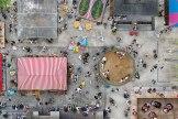 Standpunkt: Die Auer Dult im August - also die Jakobi-Dult - auf dem Mariahilfplatz.