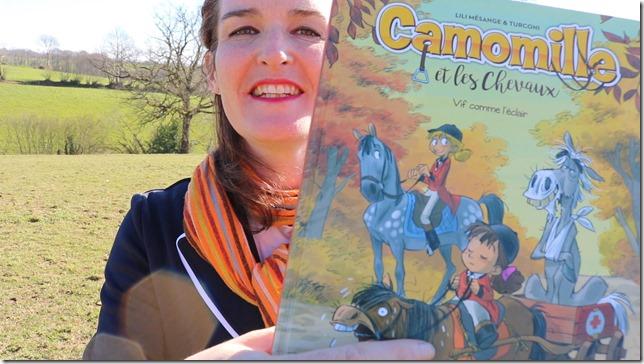 camomille et les chevaux bd
