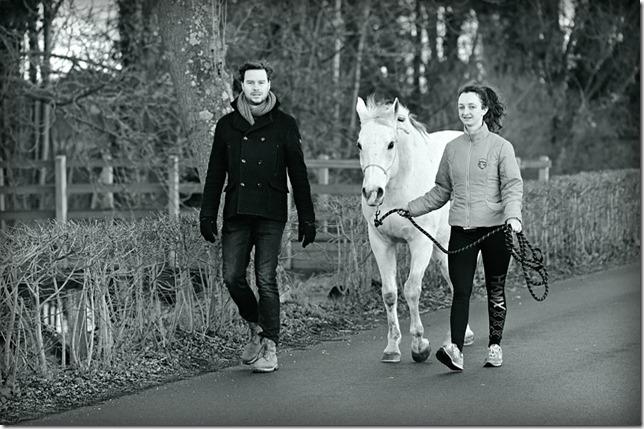 promenade cheval à pied