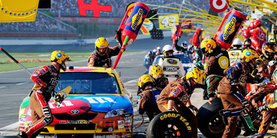 The deal with Nascar will give Screenvision original, exclusive long-form content to spruce up its 'pre-show' in order to improve engagement for the rest of its paying advertisers.