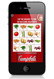 The new Campbell's iPhone app